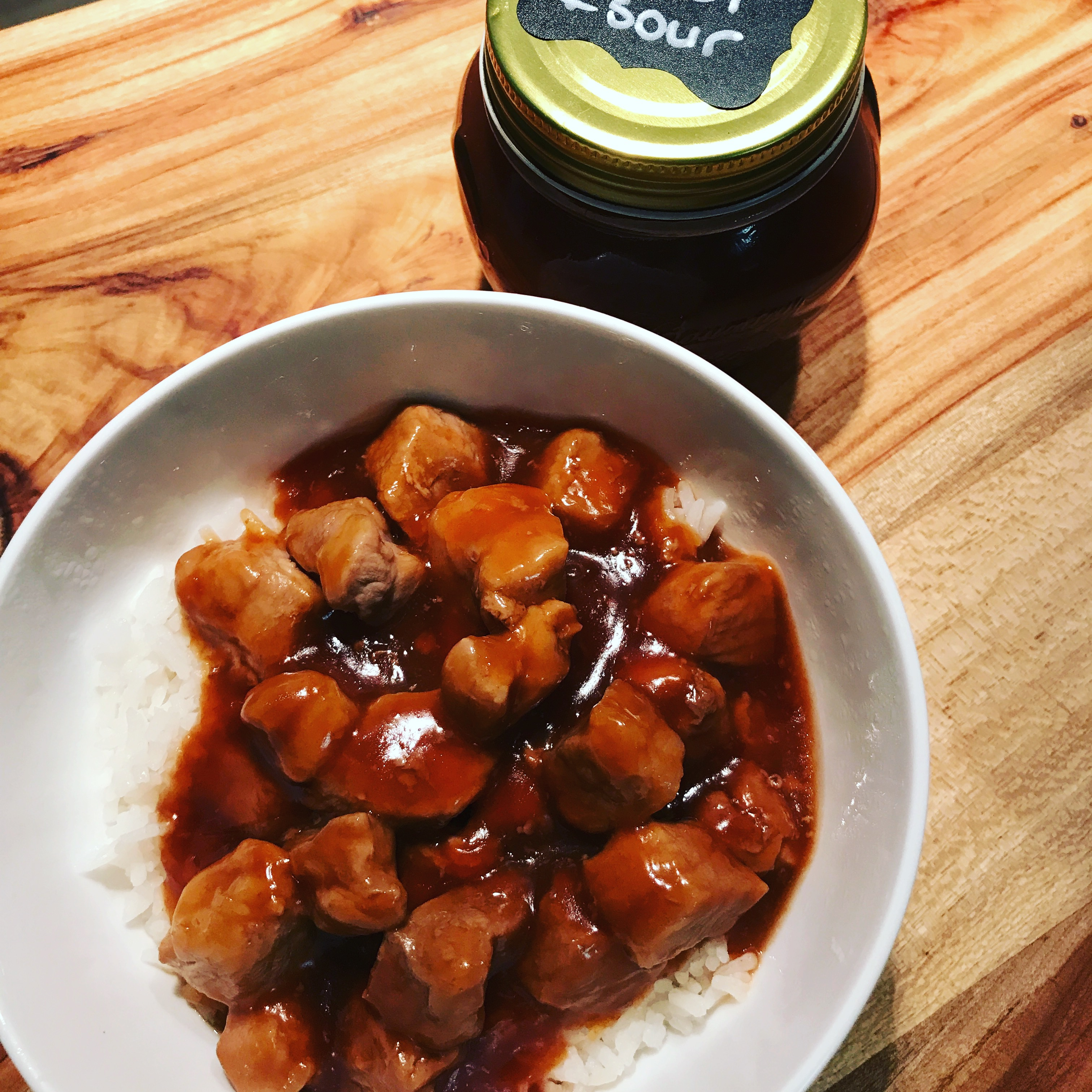 Sweet sour sauce like kantong but better back to food basics this recipe is a dump in a medium sized saucepan stir and simmer recipe it does not come any easier forumfinder Image collections